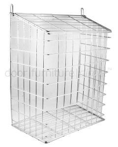Chrome Wire Letter Cage