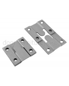 Card of Flush Mounts Zinc Plated