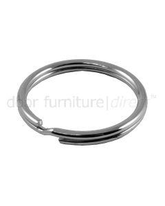 Split Rings Nickel Plated