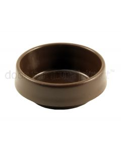 Brown Castor Cups 45mm Set of 4