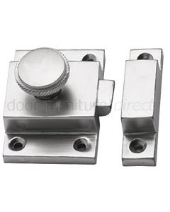 Satin Chrome Cupboard Catch 57x41mm
