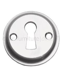 Satin Chrome Tudor Open Escutcheon 41mm