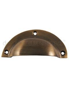 Antique Brass Drawer Pull 95x44mm