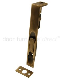 Antique Brass Flush Door Bolt 203x19mm