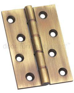 Antique Brass Hinge 102x67mm In Pairs