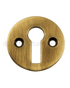 Antique Brass Open Escutcheon 32mm