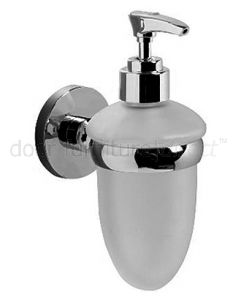 Lilly Chrome Liquid Soap Dispenser