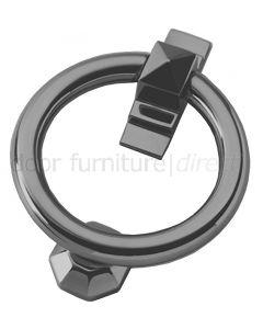 Pewter Finish Ring Door Knocker 105mm