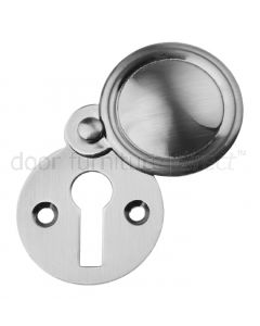 Pewter Finish Covered Escutcheon