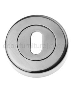 Pewter Finish Slotted Escutcheon 53mm