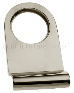 Polished Nickel Cylinder Pull 83x44mm