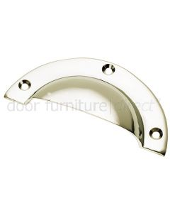 Polished Nickel Drawer Pull Handle 102x44mm