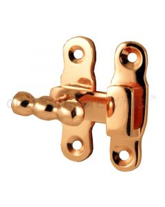 Rose Copper Showcase Fastener 44x13mm