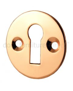Rose Copper Victorian Open Escutcheon 32mm