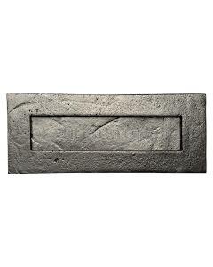 Blacksmith Black Letter Plate 267x108mm 6080