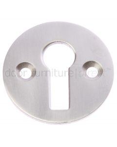 Satin Nickel Key Escutcheon 32mm