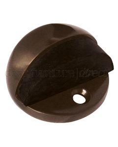 Imitation Bronze Oval Door Stop 46mm