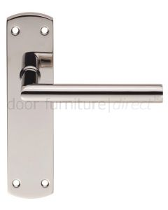 Steelworx Stainless Steel Mitred Lever Latch Set