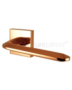 Era Copper Lever on Rose Door Handles
