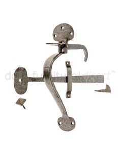 Valley Forge Pewter Bean Latch 250mm VF18