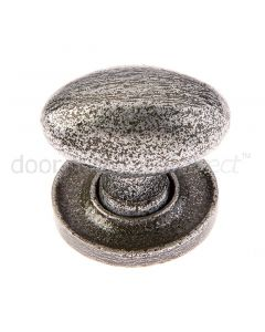 Valley Forge Pewter Oval Cabinet Knob VF45