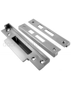 British Standard Sashlock Rebate Set Stainless Steel