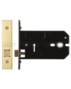 Horizontal Mortice Latch PVD Brass