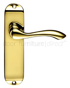 Arundel Electro Brass Latch Door Handles