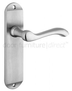 Arundel Satin Chrome Latch Door Handles