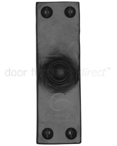 Black Iron Rustic Door Bell 103x32mm