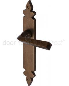 Solid Bronze Rustic Ironbridge Door Handles