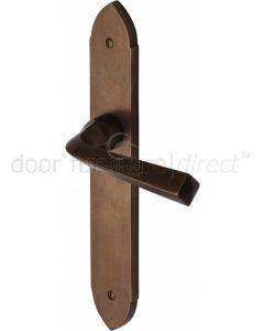 Solid Bronze Rustic Grafton Door Handles