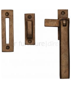 Solid Bronze Rustic Plain Style Casement Window Fastener