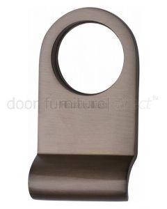 Matt Bronze Door Cylinder Pull with Round Top