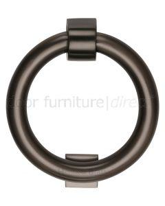 Matt Bronze Ring Door Knocker 107mm