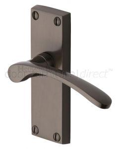 Sophia Matt Bronze Short Latch Door Handles