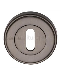 Matt Bronze Key Escutcheon 53mm