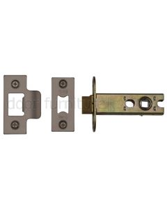 York Matt Bronze Heavy Duty Tubular Latch 3in