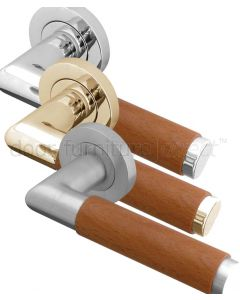 Havanna Wooden Lever on Rose Handles