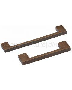 Solid Bronze Rustic Metro Cabinet Handle