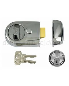 Yale Chrome Standard Nightlatch Y3