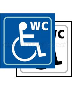 Taktyle Sign WC Disabled