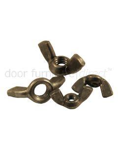 Steel Wing Nuts BSW Thread In Packs Of Ten