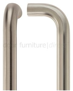 Satin Stainless Steel D Pull Handle 22mm