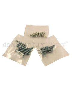 Pre-Pack Zinc Plated Round Head Wood Screws