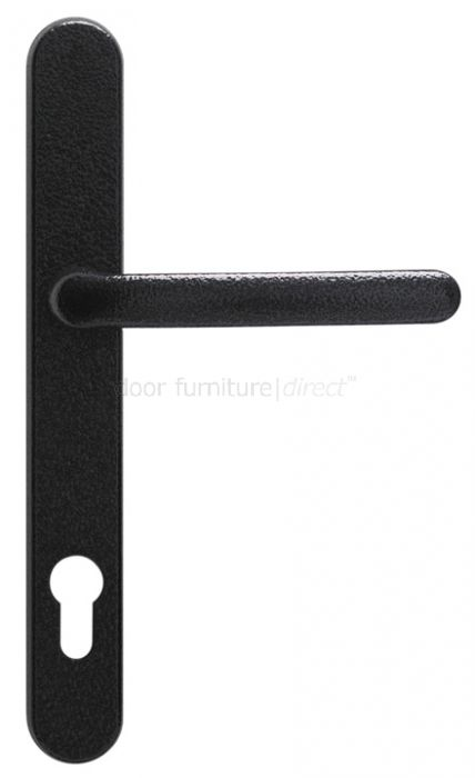 - Fab&Fix Balmoral Antique Black Door Handles 92mm Centres