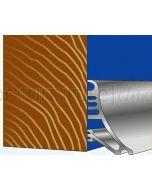 Stormguard Rain Deflector 63mm Weather Trim 914mm in Aluminium