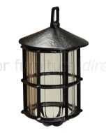 Black Antique Iron Hanging Lamp and Corner Bracket 403