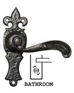 Antique Bathroom Door Handles 152x50 2442
