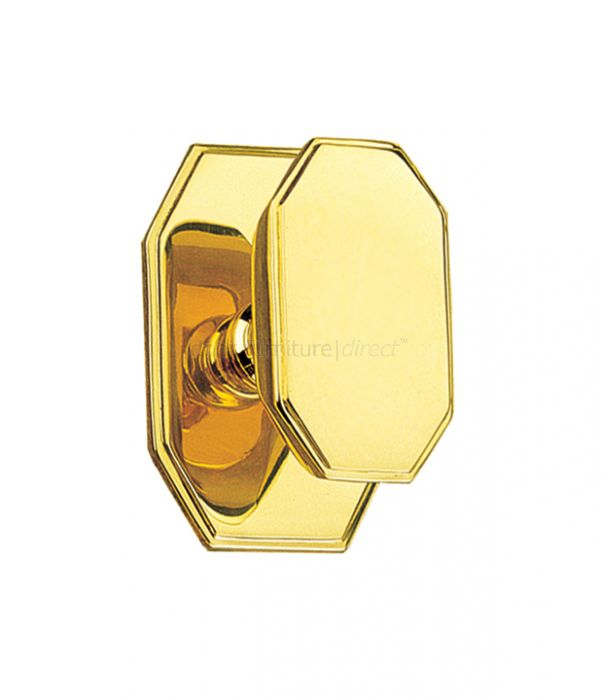Art Deco Centre Door Knob 105x70mm
